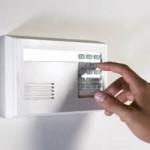 locksmith burton-upon-trent alarm panel in home