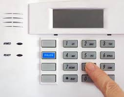 locksmith Coventry home alarm panel