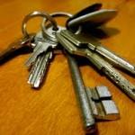 camden keys on wood