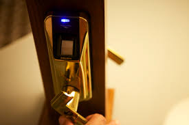 locksmith london commercial security high-tech biometric lock
