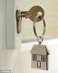 new lock new home