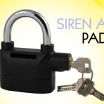 alarmed padlock