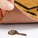locksmith peterborough key under door mat