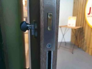 internal lock door